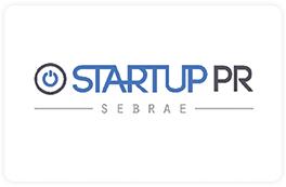 Logo Sebrae Startup PR